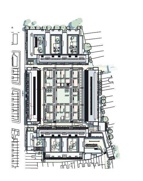 Жилой комплекс «Хайбери-Сквер» © Allies & Morrison