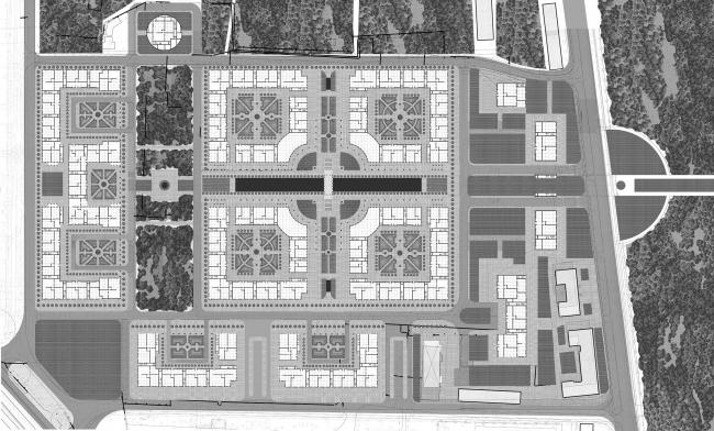 Район Марфино: проект Ильи Уткина