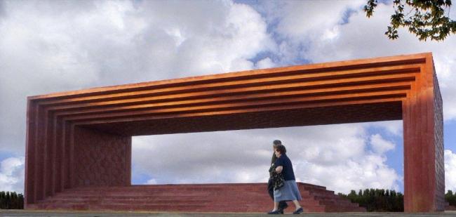 Памятник Педро Альмадовару