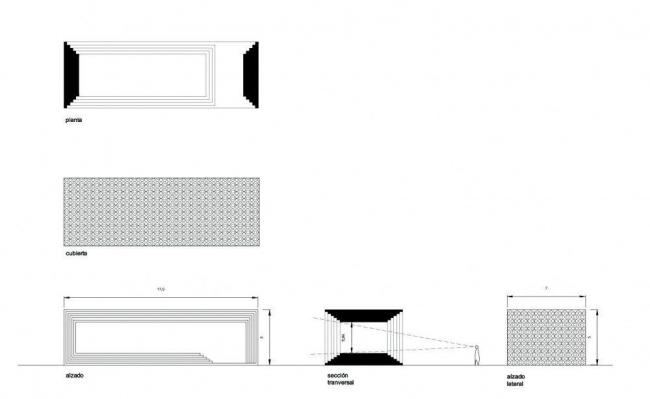 Памятник Педро Альмадовару © Enproyecto arquitectura