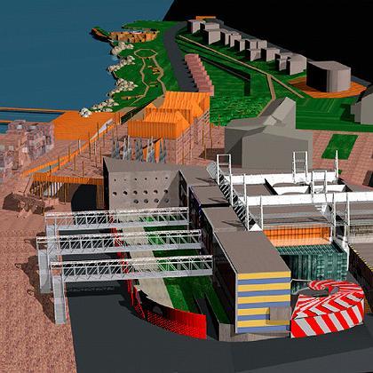 Конкурсный проект для города Киркинес. MANIPULAZIONE INTERNAZIONALE