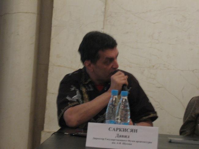 Директор Музея архитектуры Давид Саркисян