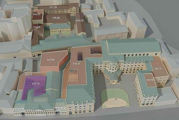 Проект реконструкции Московской консерватории. Изображение предоставлено движением «Архнадзор»