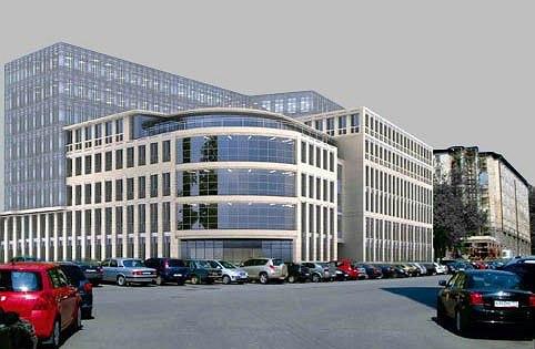 Проект офисного комплекса на Хитровской площади. Изображение предоставлено движением «Архнадзор»