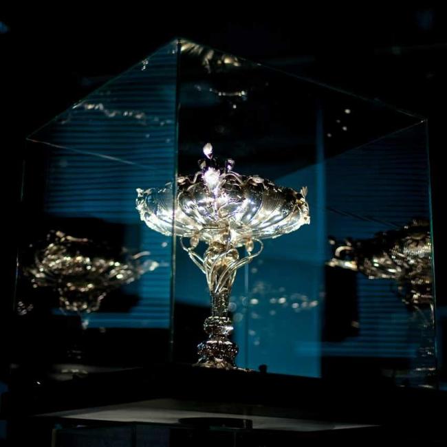 Экспозиция изделий из серебра «Сорочье гнездо». Фото © Magnus Skrede