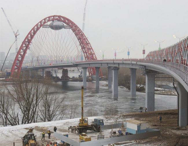 Вантовый мост «Живописный». Фото: МЕТРОГИПРОТРАНС