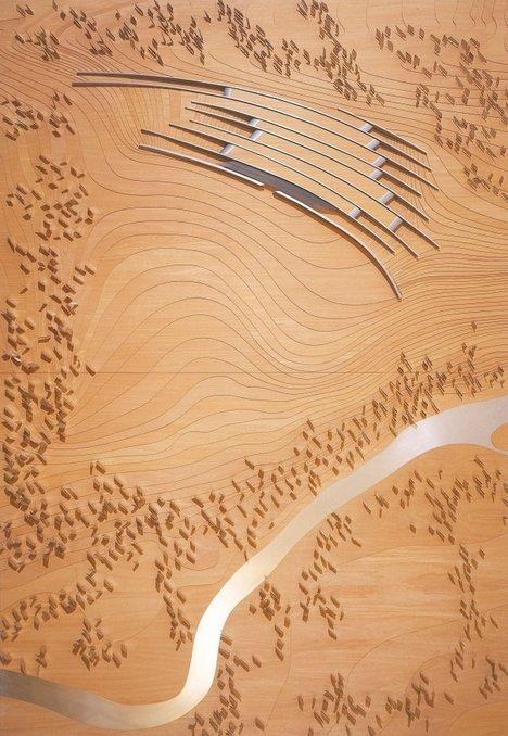 «Дентон Коркер Маршалл». Проект посетительского центра Стоунхенджа 2001 года