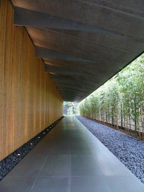 Музей Нэдзу - реконструкция. Входная галерея