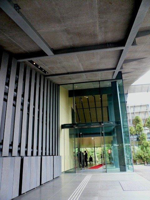 Музей Нэдзу - реконструкция. Главный вход