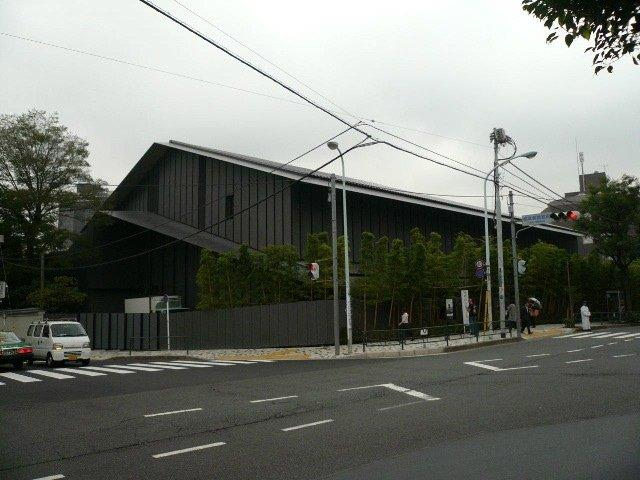 Музей Нэдзу - реконструкция