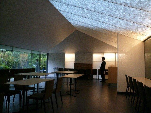 Музей Нэдзу - реконструкция. Кафе