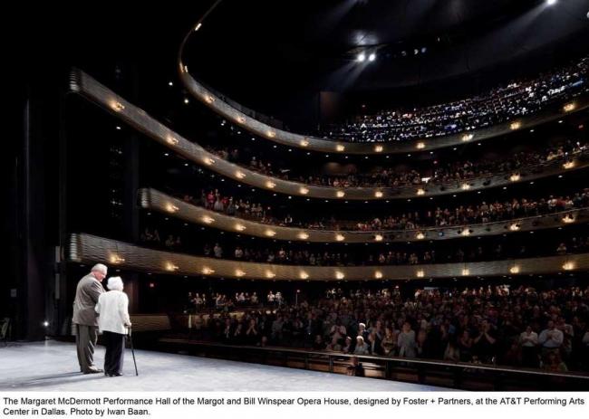 Оперный театр Уинспир. Фото © Iwan Baan
