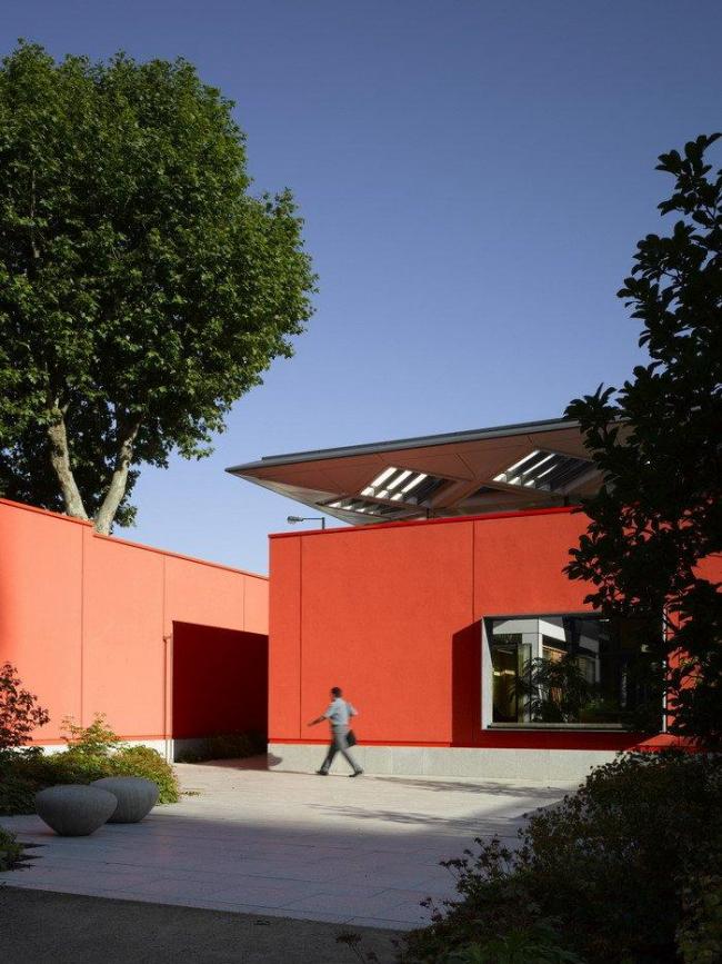 Онкологический центр Мэгги больницы Чэринг-Кросс © RSHP
