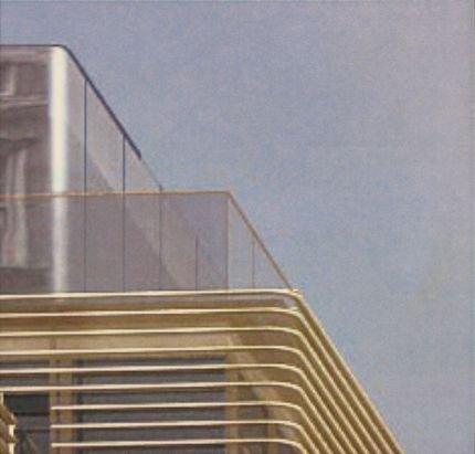 980 Мэдисон Авеню. Окончательный проект. Октябрь 2009. Деталь крыши