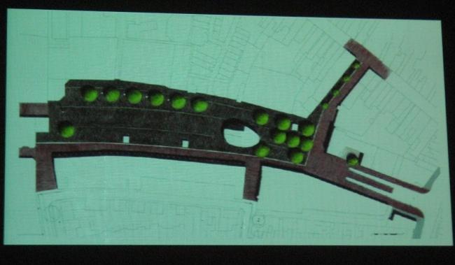 Генплан площади в г. Розендаль