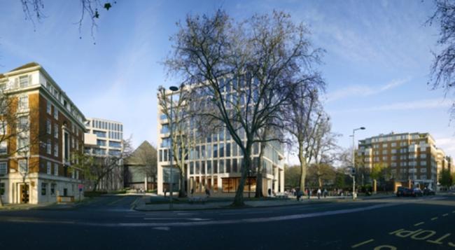 Реконструкция территории Института Содружества. Проект 2009 © OMA