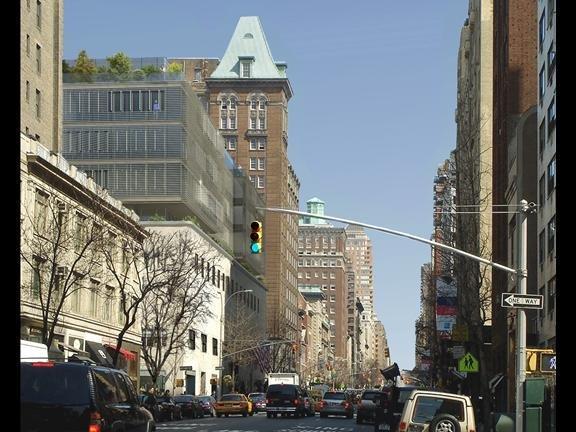 980 Мэдисон Авеню. Окончательный проект. Октябрь 2009