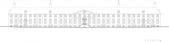 Эрмитаж Амстердам - филиал ГЭ. Главный фасад