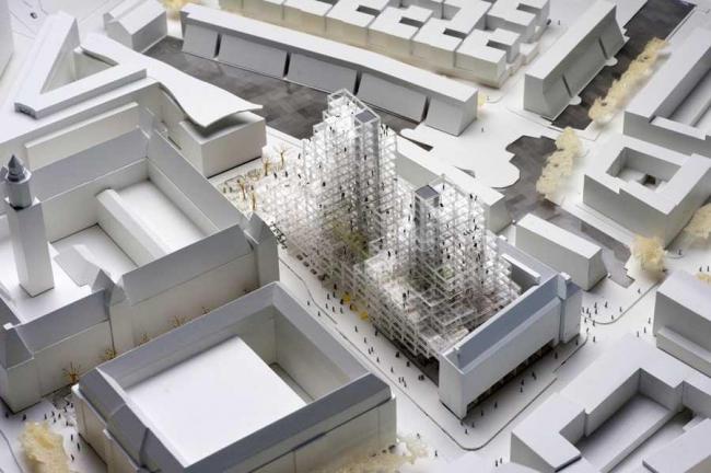 Стадсконтор – новое здание ратуши Роттердама © OMA