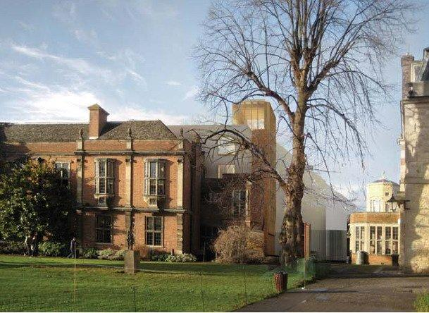 Район Обсерватории Рэдклиффа. Общежитие Сомервилл-колледжа © Niall McLaughlin Architects