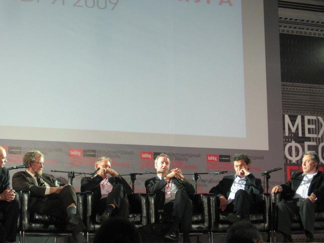Сессия: Каким будет постолимпийское будущее Сочи? Роджер Бейли, Чарльз Ледвард, Томас Лизер, Мартин Робен, Юрий Волчок