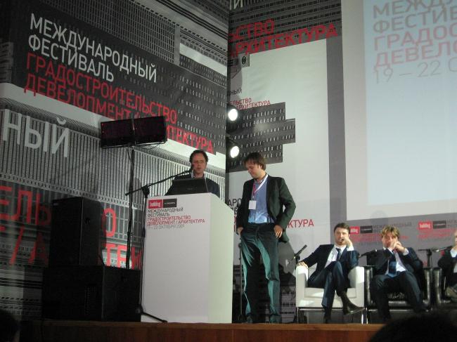 Адриан Гейзе, Петр Кудрявцев и др. участники пресс-конференции