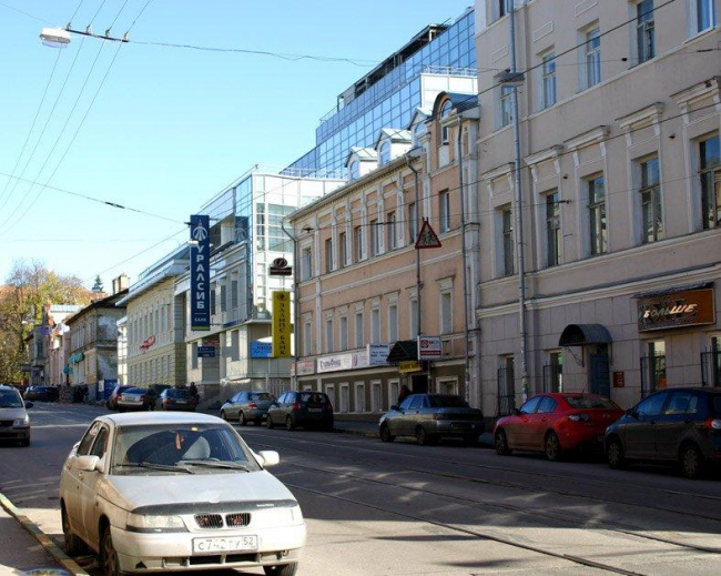 Здание Почетного консульства по улице Пискунова