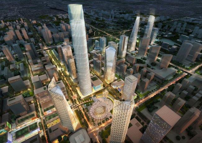 Пекинский центральный деловой район - план развития