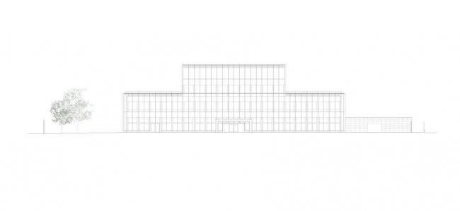 Посольство Великобритании в Польше © Tony Fretton Architects