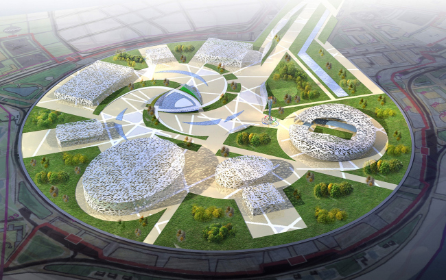 """sNezhnaya Russia"". The uniform design concept of complex of sports facilities for the Olympic Games in Sochi."