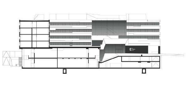 Университет прикладных наук «FH Campus Wien» © Delugan Meissl Associated Architects