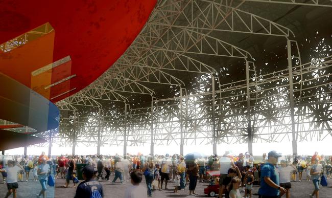 «сНежная Россия». Концепция единого дизайна олимпийского комплекса в г. Сочи © ГрандПроектСити