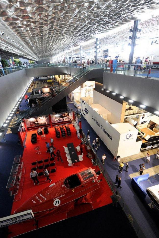 Павильон В выставочного комплекса Fiera Genova © Ateliers Jean Nouvel
