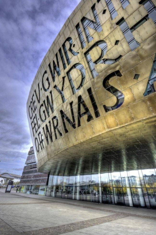 Уэльский Центр Тысячелетия. Фото © Wojtek Gurak