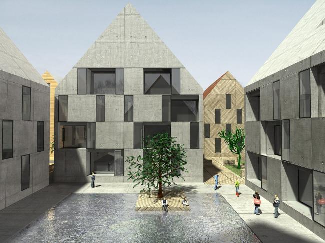 Федор Дубинников. Checkers housing system. IABR – International Architectural Biennale in Rotterdam