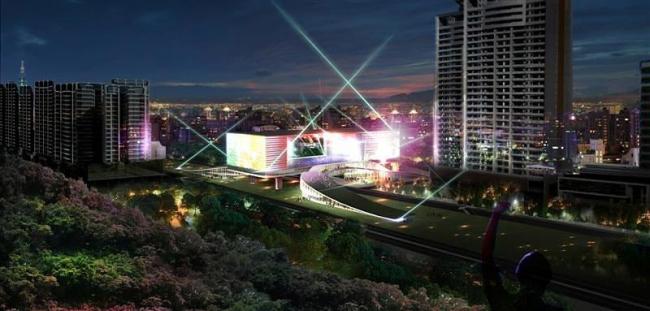 Тайбэйский центр поп-музыки. Конкурсный проект