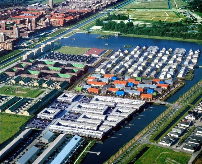 MVRDV, Ypenburg - концепт застройки микрорайона