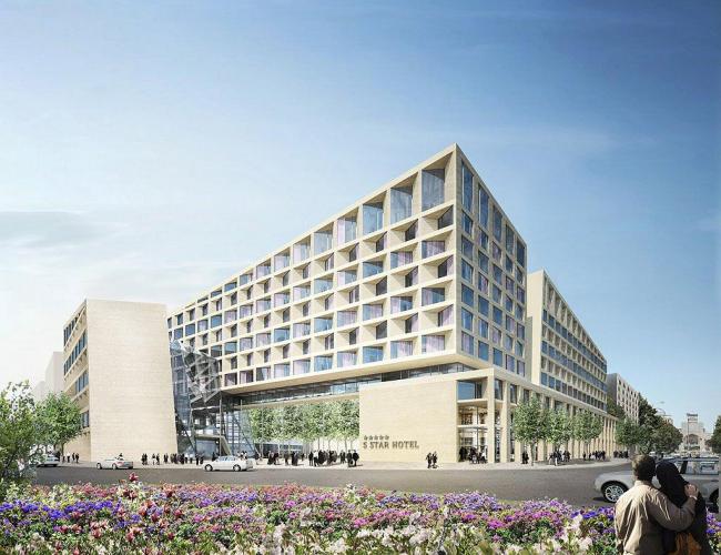 Многофункциональный комплекс с жильем и офисами