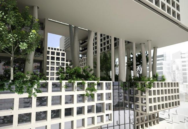 Guallart Architects. Конкурсный проект. 2-е место