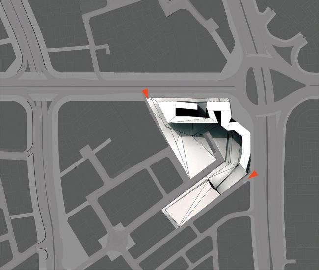Fluid Motion Architects. Конкурсный проект. 3-е место
