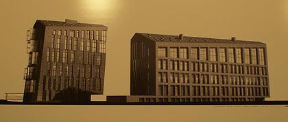 Лучший Проект. Диплом 1 степени – Сергей Скуратов Architects. Проект жилого дома в Тессинском переулке