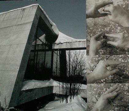 Фрагмент экспозиции Архитектурной мастерской Дмитрия Гейченко