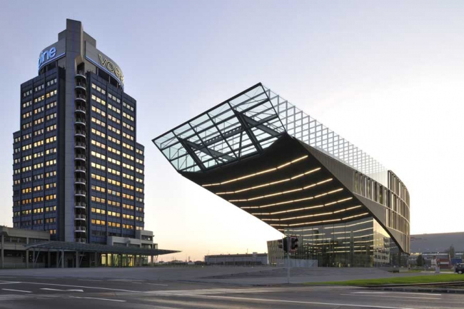 Штаб-квартира компании Voestalpine. Фото © Josef Pausch