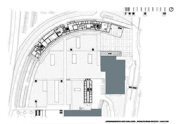 Штаб-квартира компании Voestalpine © Dietmar Feichtinger Architectes