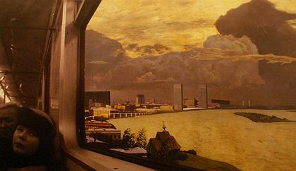 Исследовательский проект «Москва-река». Одна из иллюстраций.