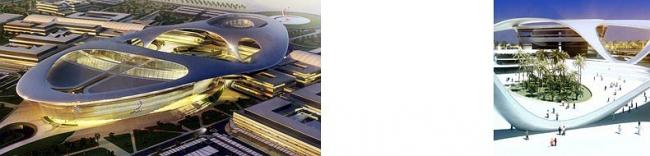 Проект университета Zayed в Абу-Даби, 2009 (строится)