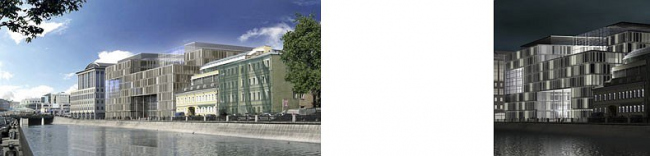 Проект офисного здания (рядом с гостиницей «Балчуг») Москва, 2006