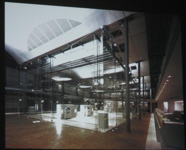 Здание сберкассы, Киль, 1994-96