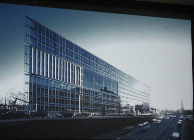 Офисное здание собственной компании в Гамбурге, 2000-2002