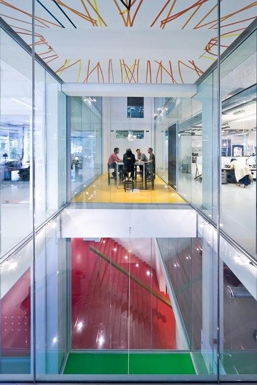 Интерьер амстердамского офиса компании Wieden + Kennedy